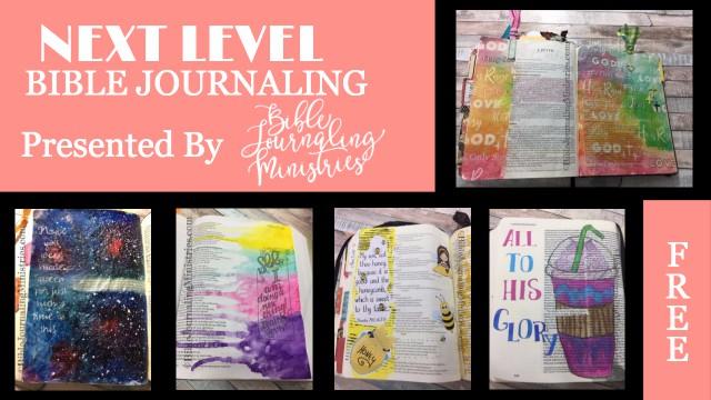 next level bible journaling