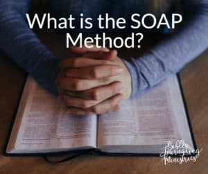 What is the SOAP Method