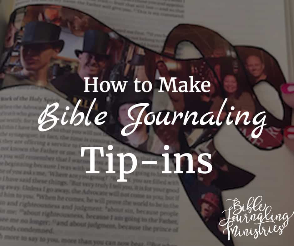 how to make bible journaling tip-ins