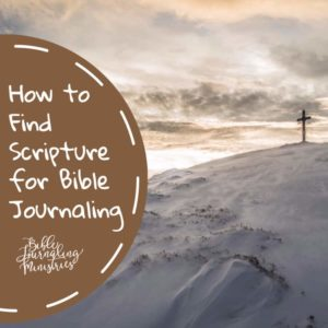 how-to-find-scripture-for-bible-journaling