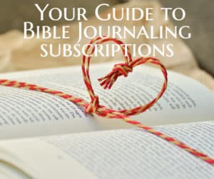Monthly Subscription Plans for Bible Journaling