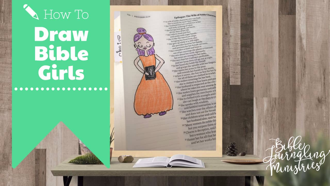 How to Draw Girls of the Bible – Queen Vashti