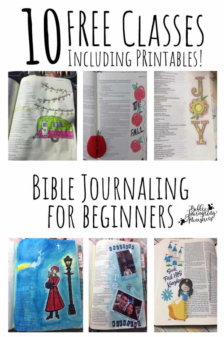 FREE Bible Journaling