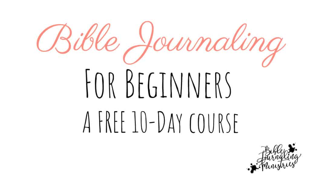 bible journaling course