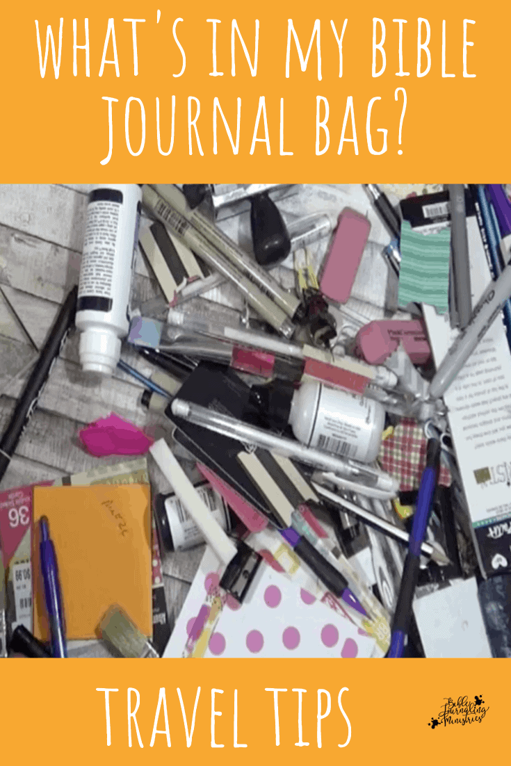 Bible Journaling Travel Supplies