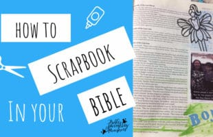 How to Scrapbook in Your Bible