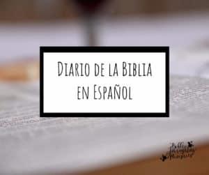 Diario de la Biblia en espanol