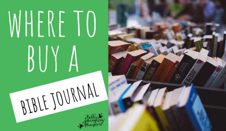 journaling bible where to buy