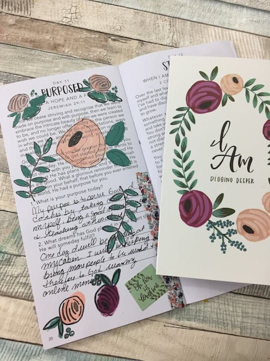 Bible journaling I AM Kit by Illustrated Faith
