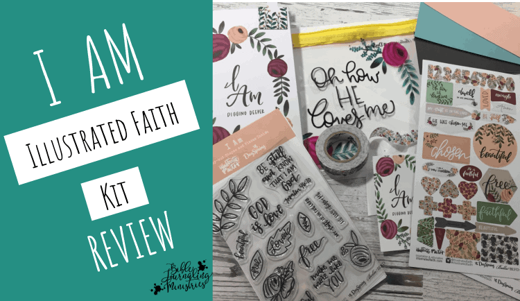 Illustrated Faith Bible Journaling Kit Review - I AM