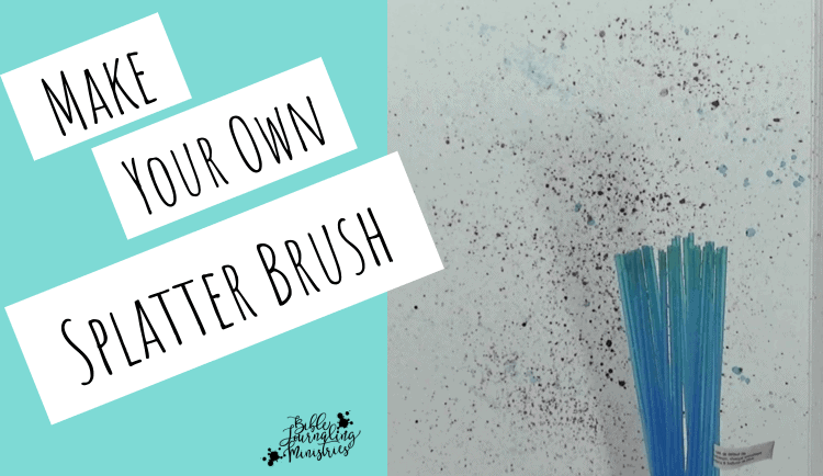 How to Make a Splatter Brush for Free