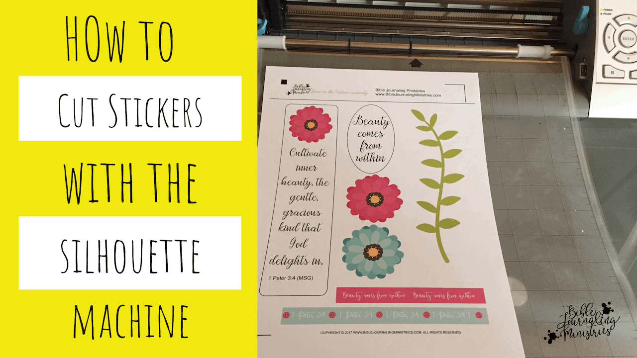 How to Make Stickers from PDF Files Using Silhouette and Cricut Machines
