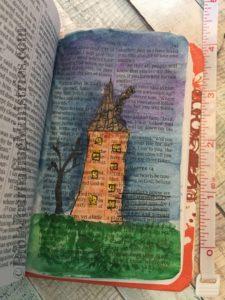 John - tiny bible journaling