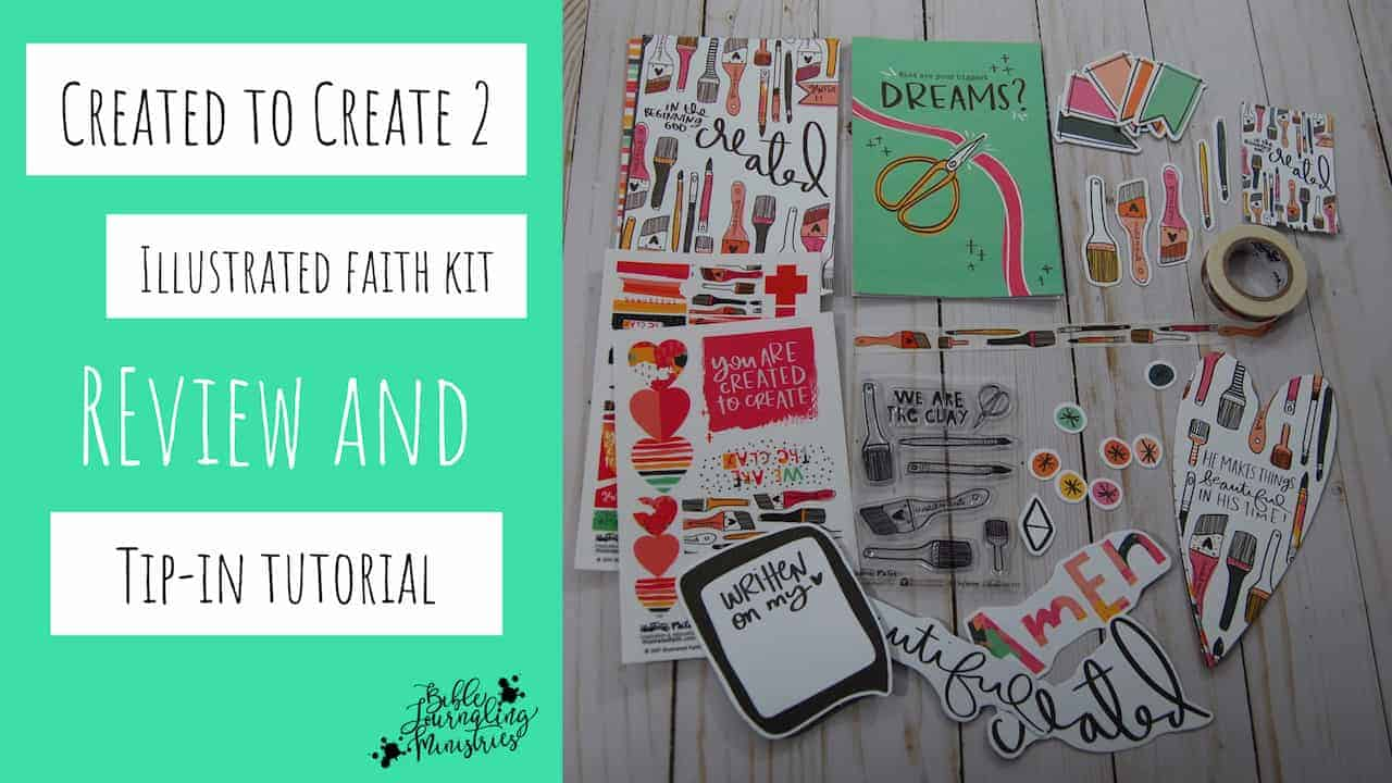 Created to Create Illustrated Faith Kit Review
