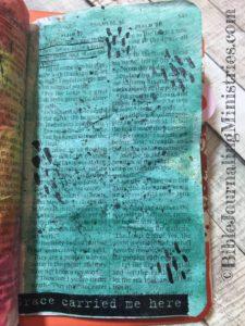 Psalms - tiny bible journaling