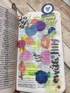 Romans - tiny bible journaling