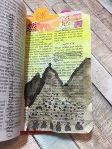 Revelations - tiny bible journaling