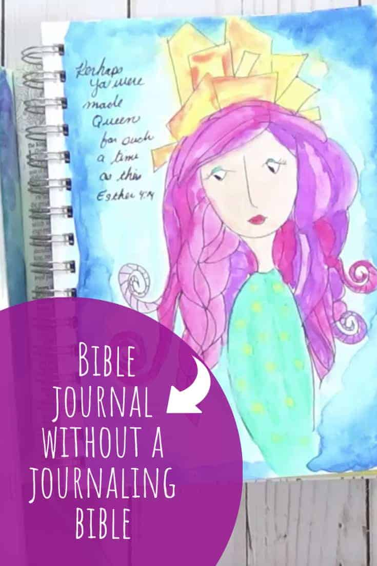 Bible Journal Without a Journaling Bible