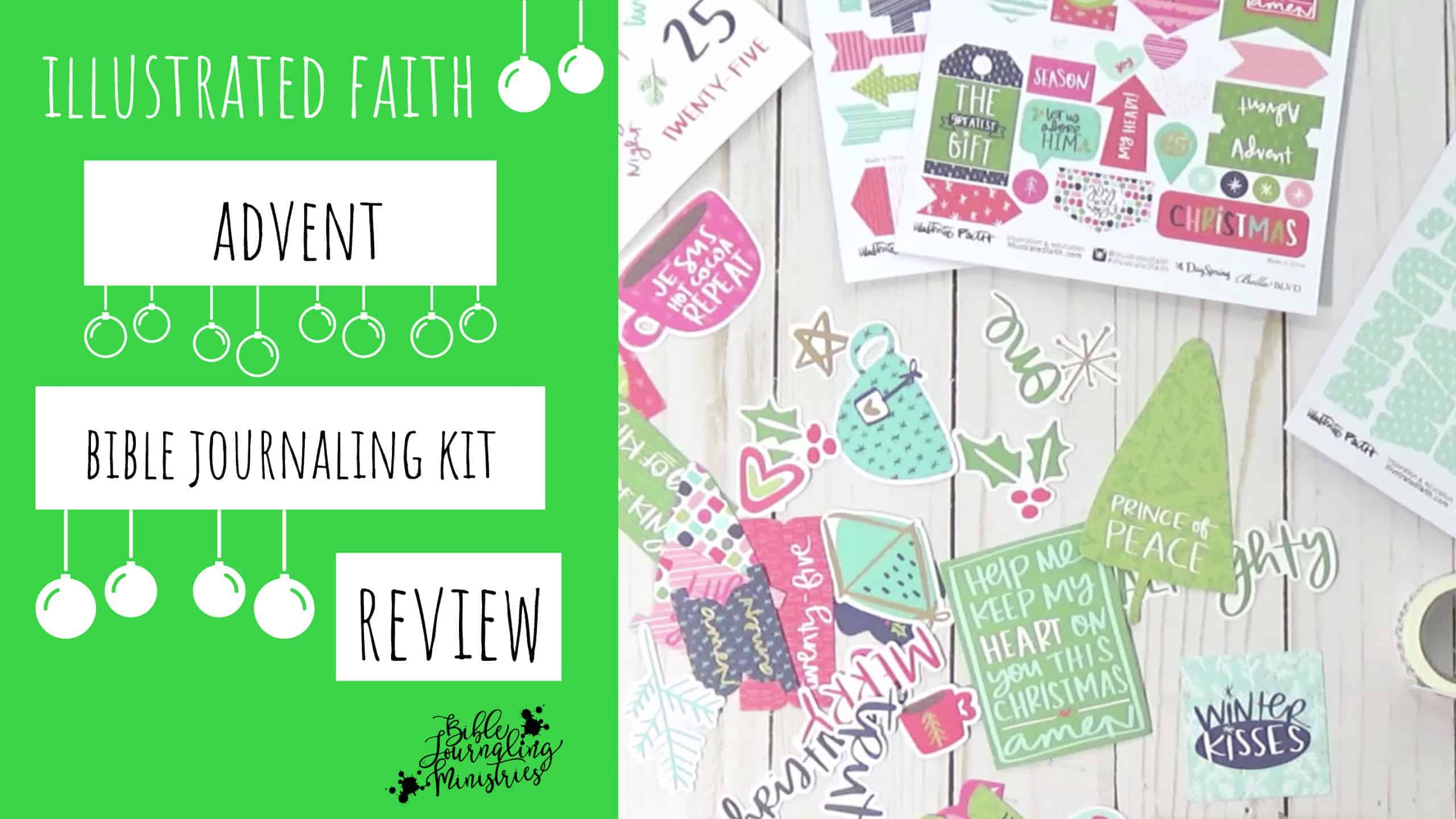 Illustrated Faith Advent Bible Journaling Kit Review