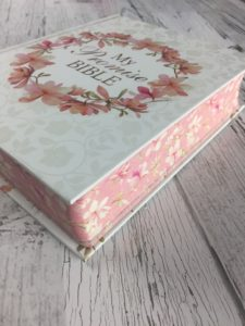 My promise bible edging