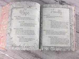 My promise bible line art