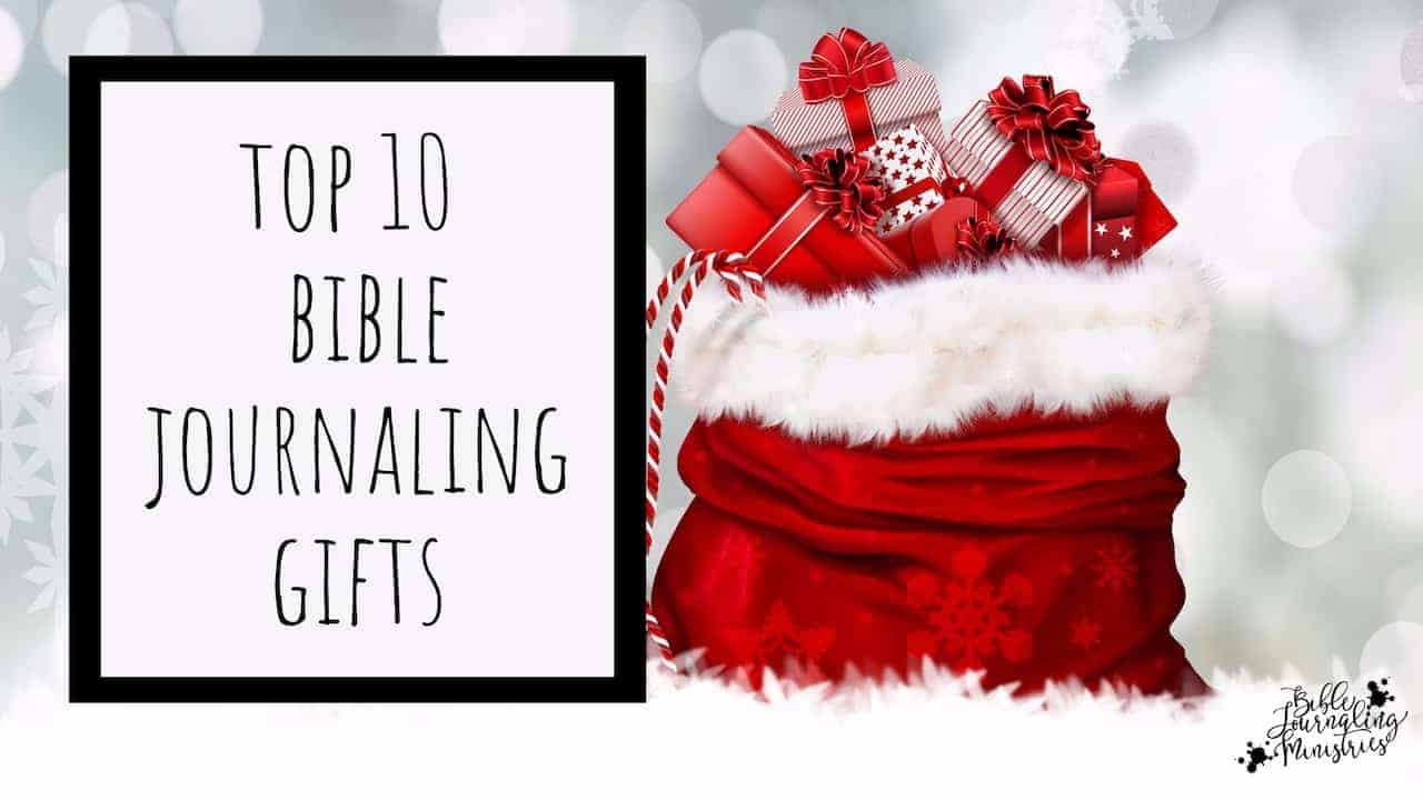 10 Best Bible Journaling Gifts for Christmas + Giveaway!!!!