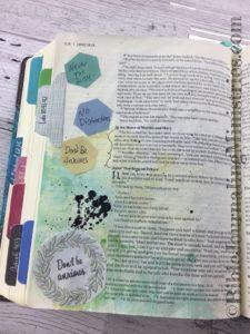 Bible Journaling Luke 10-41