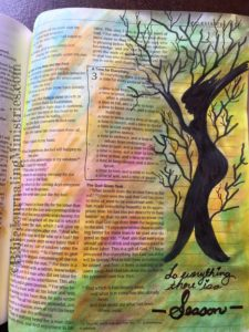 Bible Journaling Ecclesiastes 3