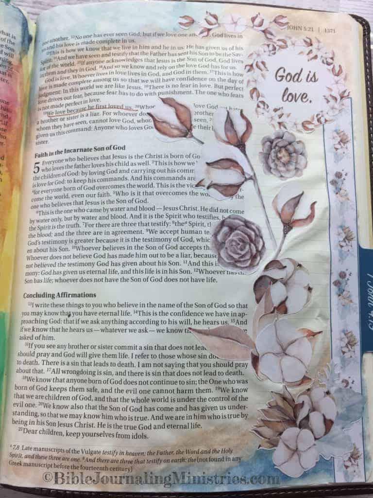 Bible Journaling John 4:19