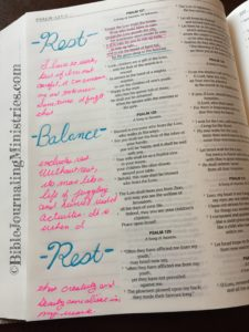 Bible Journaling Psalm 127:2