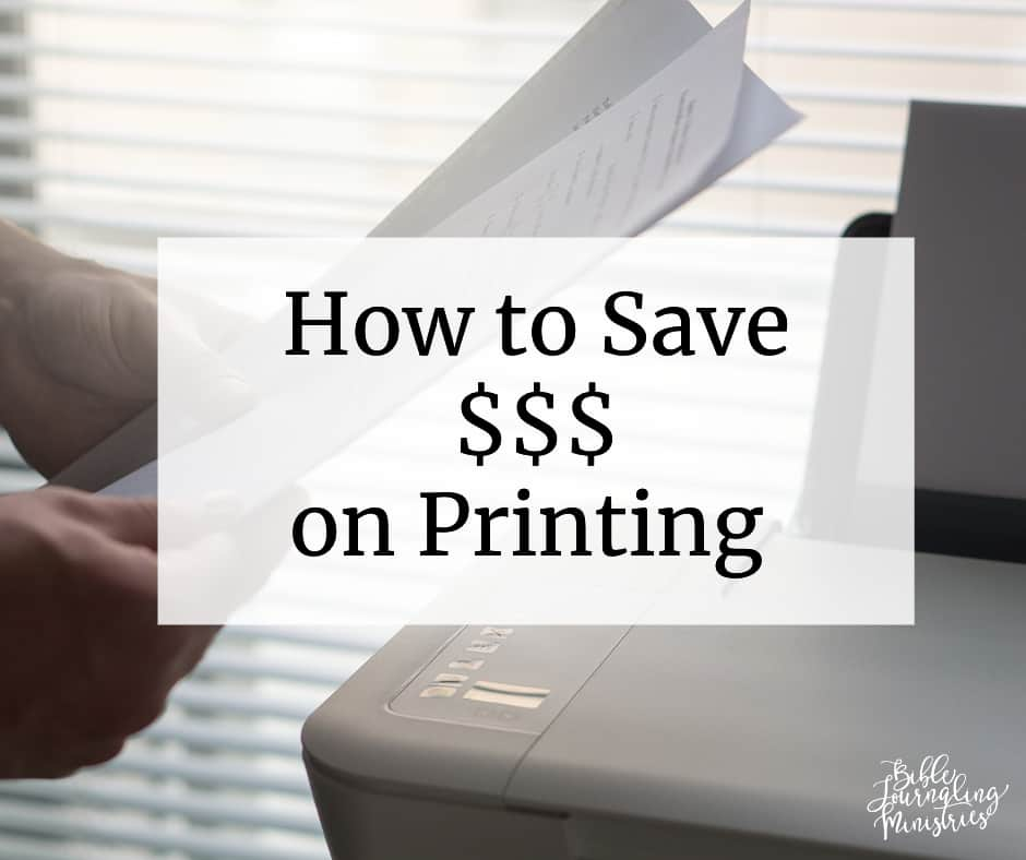 How I Save Money Using My Favorite Printer!!!