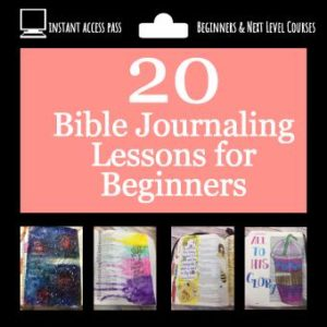 Beginners Bible Journaling Course