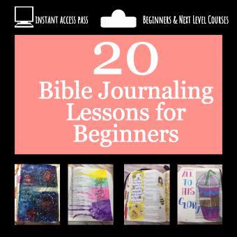 Beginners Bible Journaling Course