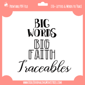 Big Words Traceables