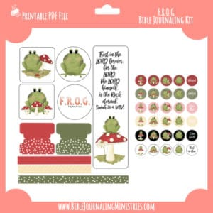 Isaiah 26 - FROG Digital Bible Journaling Kit