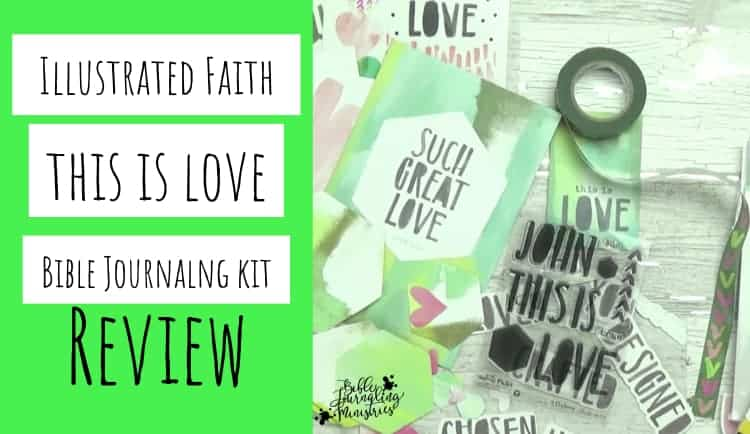This is love bible journaling kit review