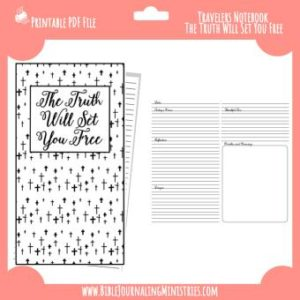 The Truth Will Set You Free Traveler's Notebook Insert