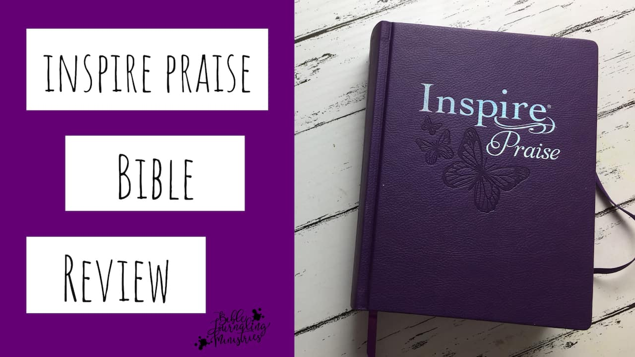 Inspire Praise Bible Review – Including Measurements and Weight
