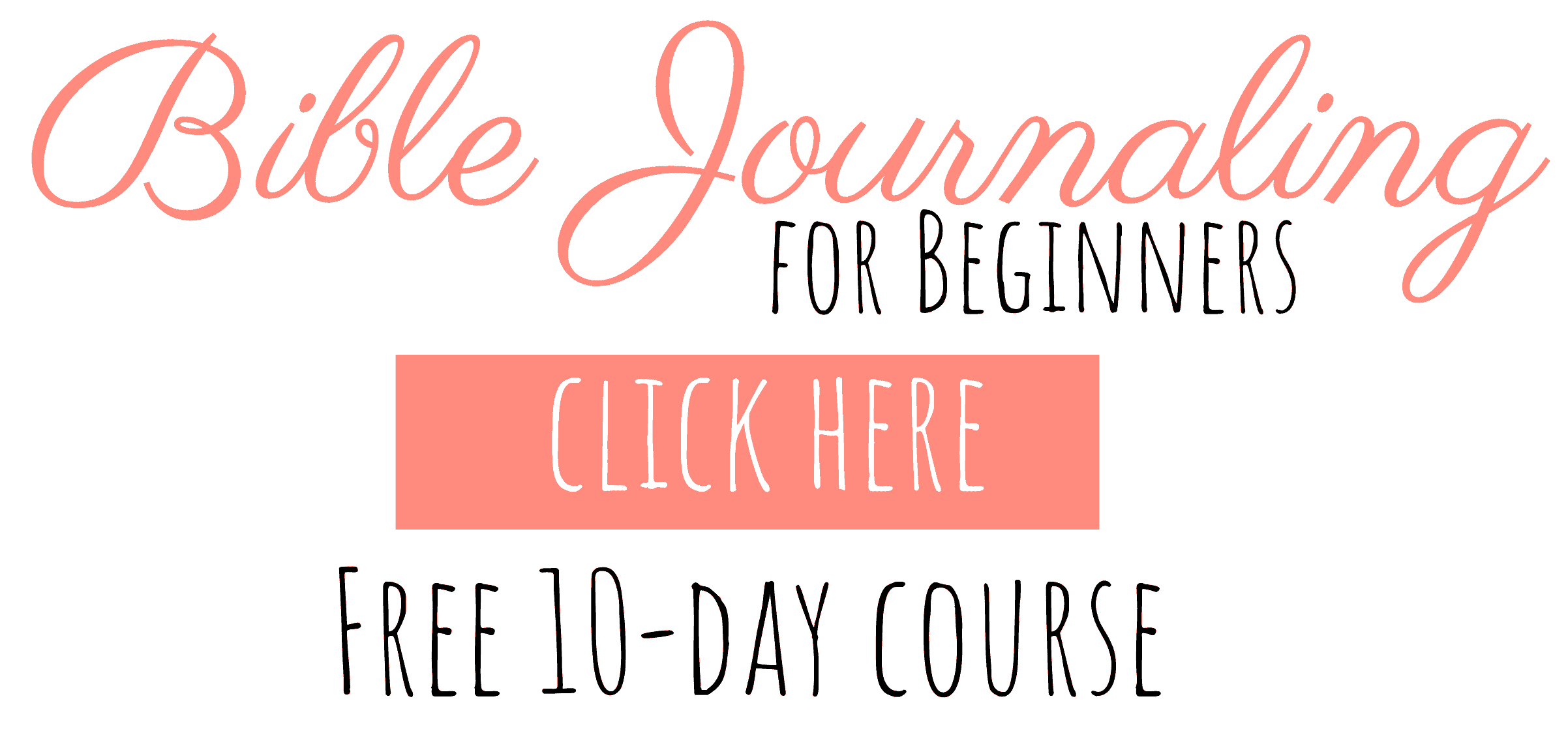 FREE Bible Journaling Course!