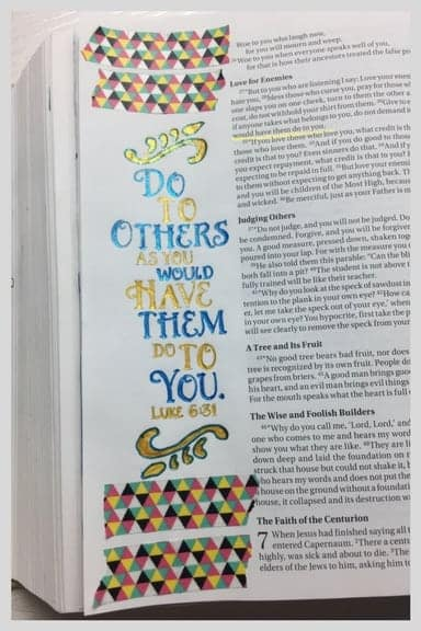 Bible Journaling Ministries Luke 6-31