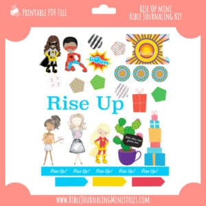 Rise Up Mini Bible Journaling Kit