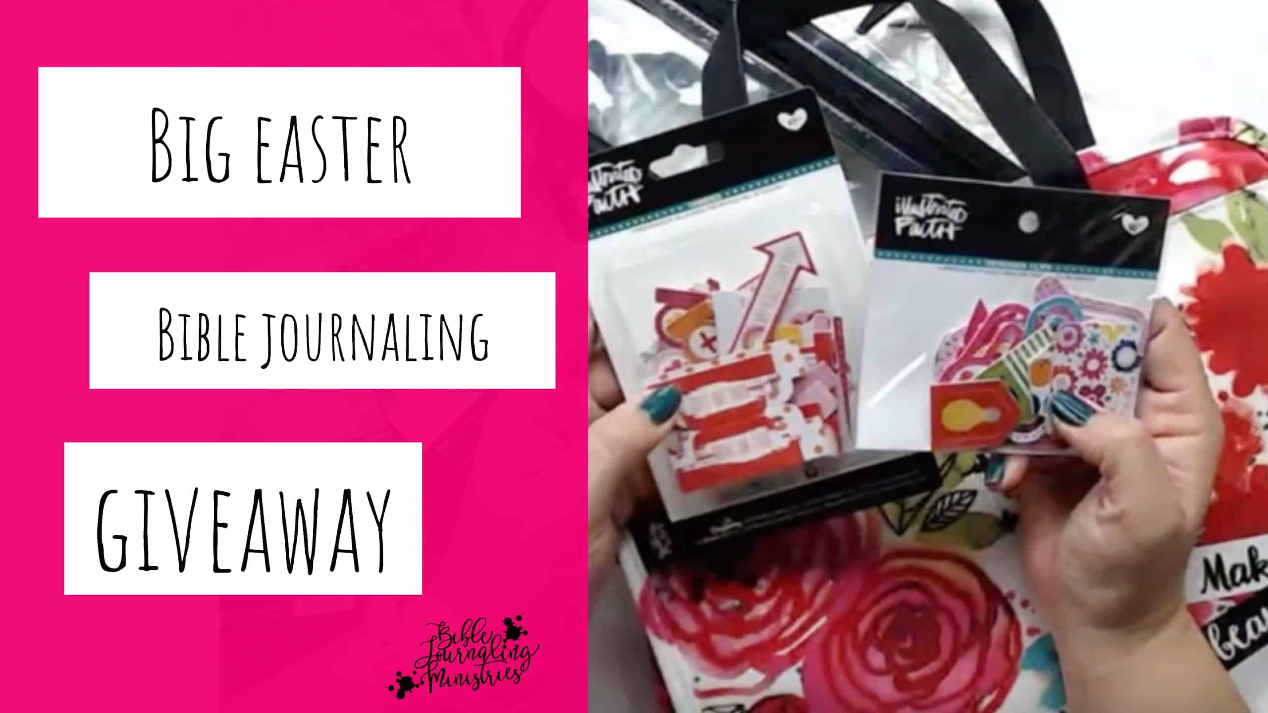 Enter to Win Bible Journaling Supplies Worth Over $100