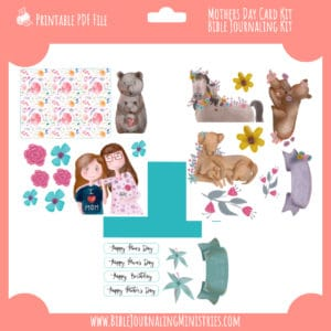 Christian Mother's Day Card Kit