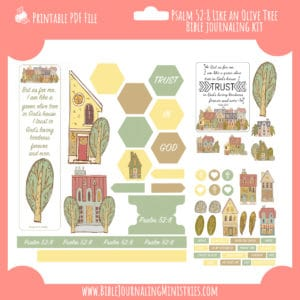like an olive tree Bible Journaling Kit