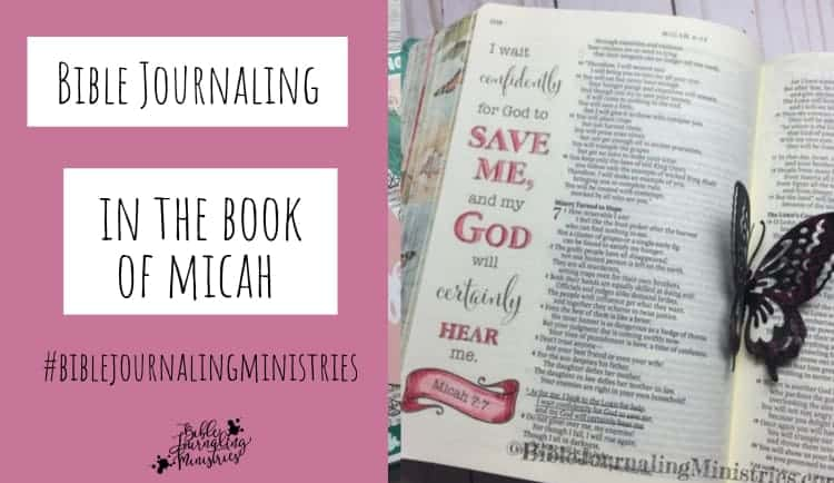 Bible Journaling in the Book of Micah
