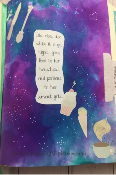 Momentum- Dream Big Proverbs 31.15