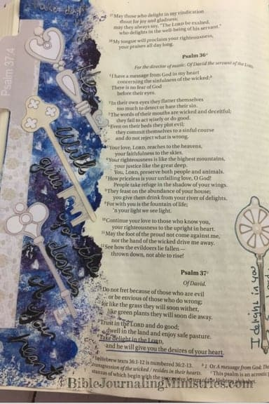 Momentum- Dream Big Psalm 37.4