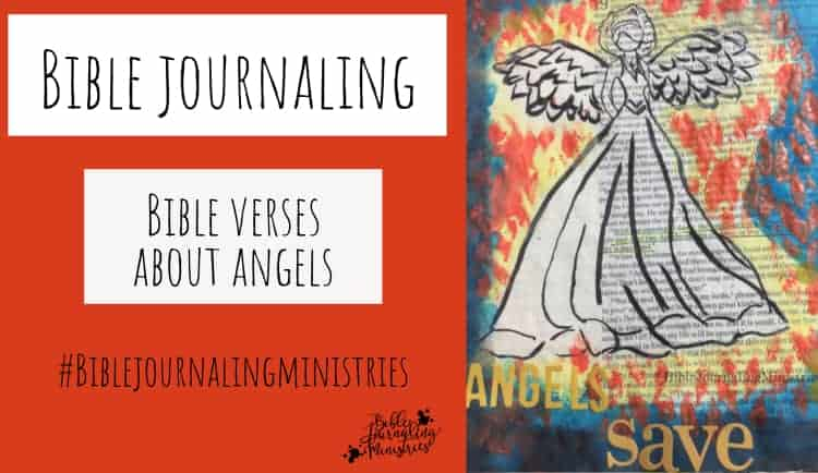 Bible Journaling Bible Verses About Angels