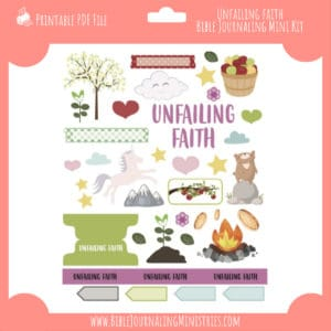 unfailing faith mini