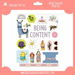 Being Content Mini Kit